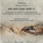 Certificato per donazione alla memoria