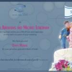 Certificato per donazione matrimonio