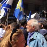 Alle celebrazioni del 25 aprile Ugo Volli autore di Israele diario di un assedio