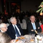 Benny Gantz al tavolo con Andrea Jarach