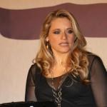 Sabra Del Mare, conduttrice della serata