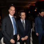 Ofer Sachs, Ambasciatore di Israele in Italia, e Attilio Fontana, nuovo Presidente della Regione Lombardia