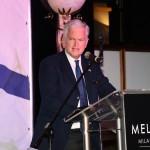 Il presidente del KH Italia Andrea Jarach durante il suo discorso