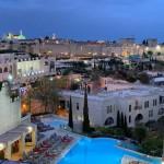 Gerusalemme, la vista dall'albergo