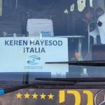 Keren Hayesod italia bus
