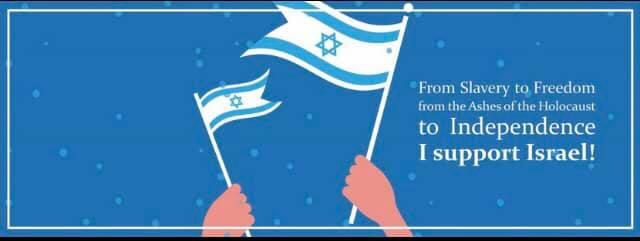 Yom Hatzmauth i support israel