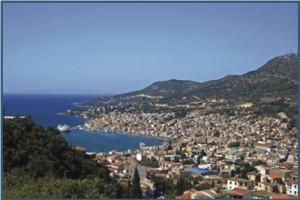 Samos in Grecia